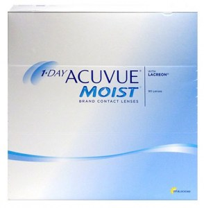 Acuvue 1-Day Moist - 90 čoček